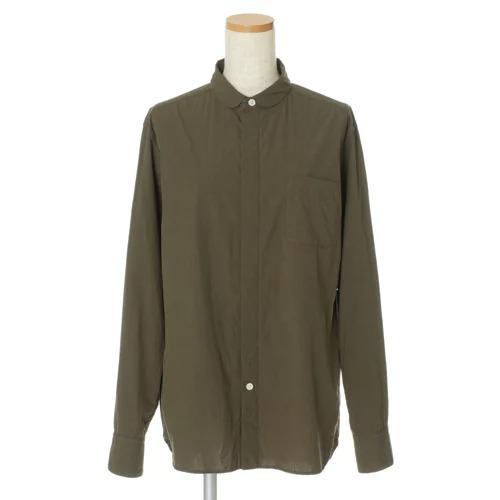 宮崎桃代×Drawing Numbersボーイズテイストシャツ カーキ¥27,500(税込)