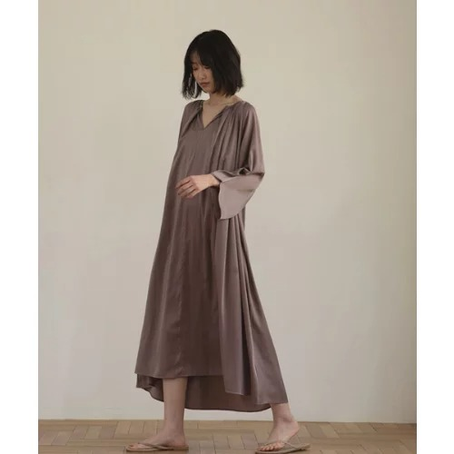 marjour SATIN DRESS ¥12,100