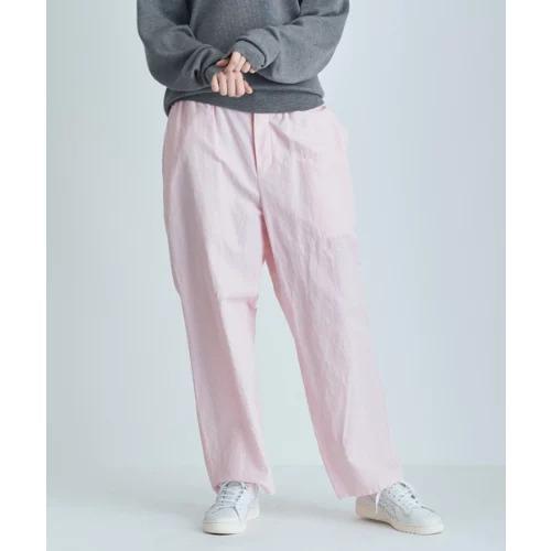 ATON SILK LINEN SHANTUNG | パジャマパンツ ¥42,900(税込)