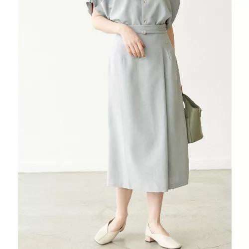 ROPE' PICNIC/【セットアップ対応】リネンライクラップスカート/¥4,400