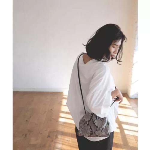 marjourMARSHMALLOW BAG(PYTHON)¥28,600