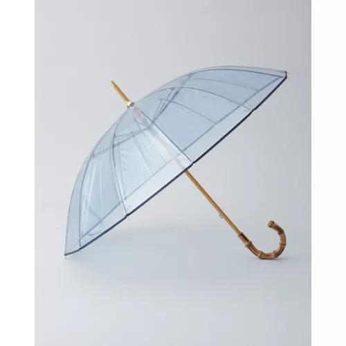 Traditional Weatherwear CLEAR UMBRELLA BAMBOO