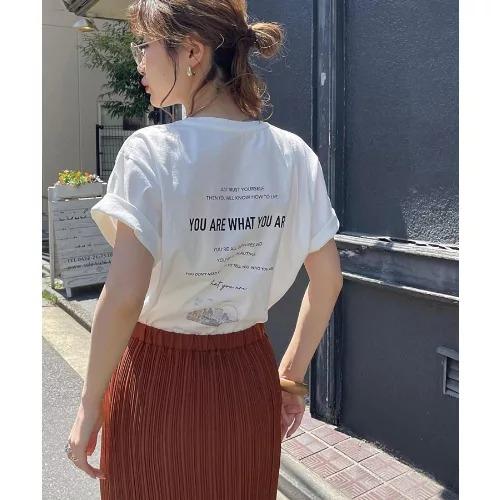 ViS/アソートグラフィックTシャツ/¥2,178