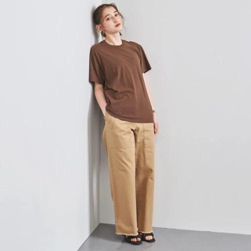 UNITED ARROWS別注<Hanes(ヘインズ)>クルーネック Tシャツ¥3,960
