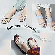 ネイルカラー合わせを楽しみたい夏のおすすめサンダルTOP5【Odette e Odile 】