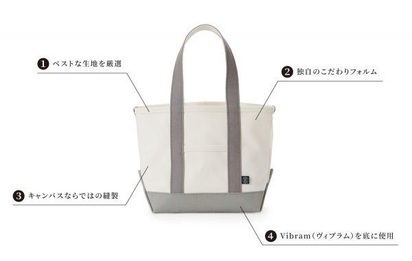 russet /Vibramキャンバストートバッグ M size / ¥16,500