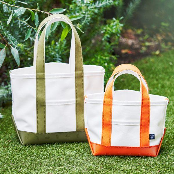russet/VibramキャンバストートバッグS size¥13,200/こだわりデザイン紹介