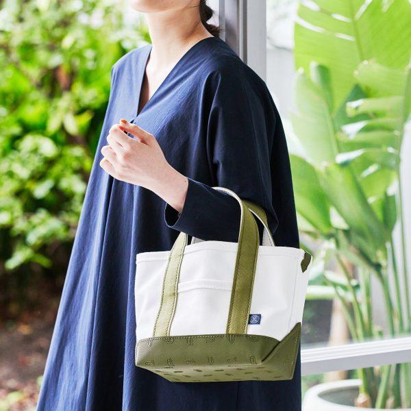 russet/VibramキャンバストートバッグS size / ¥13,200