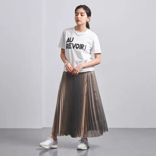 UNITED ARROWS UWFM P GLITTER プリーツスカート† ¥26,400 →¥13,200(50%OFF)