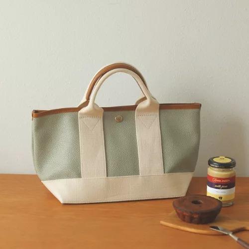 TOPKAPI/TOPKAPI BREATH スコッチグレインネオレザー ミニトートバッグ/¥13,200