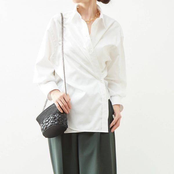 martinique (マルティニーク) Albini Donna2WAYオーバーシャツ ¥26,400
