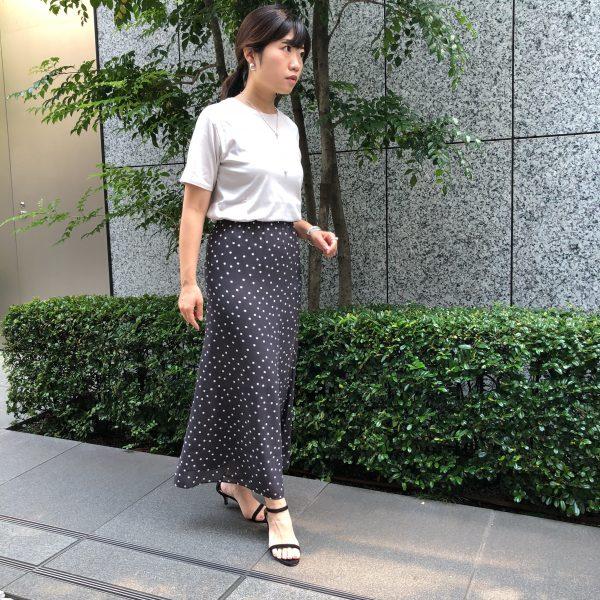 M7days 【松村純子さんコラボ】Tシャツ バイヤーがサイズ別に着比べてみました!