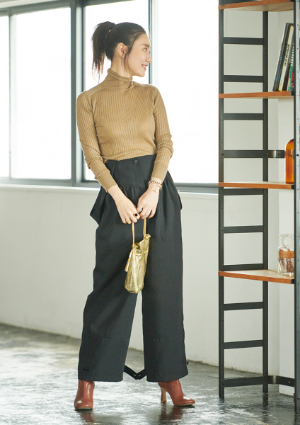 人気ファッションエディター・東原妙子さんの新しい7つのボトムで晩夏→初秋のTaeko's STYLE