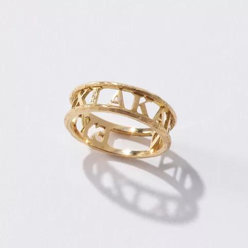 GIGIInscription ring(EYTYXI AKAKIN)¥85,800