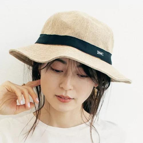 ORCIVALラフィア風ハット¥7,480(税込)