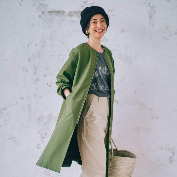 suadeo/【TAION】コラボ 洗えるインナーダウンベスト付3WAYコート/¥14,300