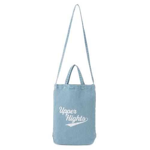 LEEマルシェおススメ!大人気のデニムブランド【upper hights】よりロゴ入りデニムトートバッグが入荷しました!