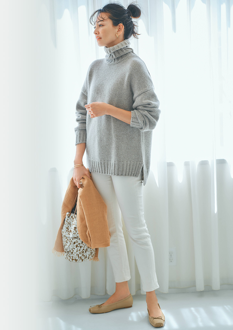 今買い足すアイテムはコレ!初秋から冬まで使える大人のための新定番服