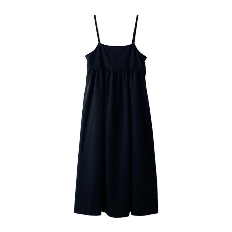 洗える[⽯上美津江さんコラボ]BACKリボンジャンパースカート