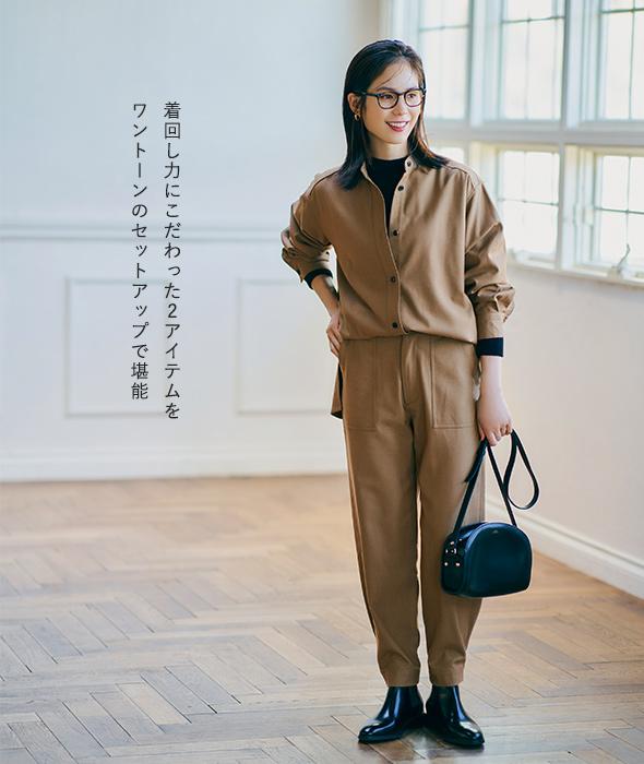 「スタイリスト福田麻琴さん×12closetコラボ」着やすさも着回し力もバージョンUP!最新!麻琴ベーシック服