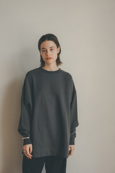 FRUIT OF THE ROOM×CLANE WIDE SWEAT TOP¥12,100