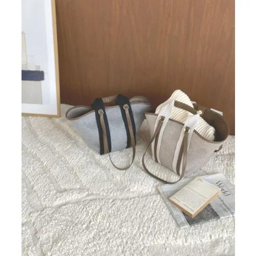marjour [Kiara]2WAY FELT BAG ¥11,000