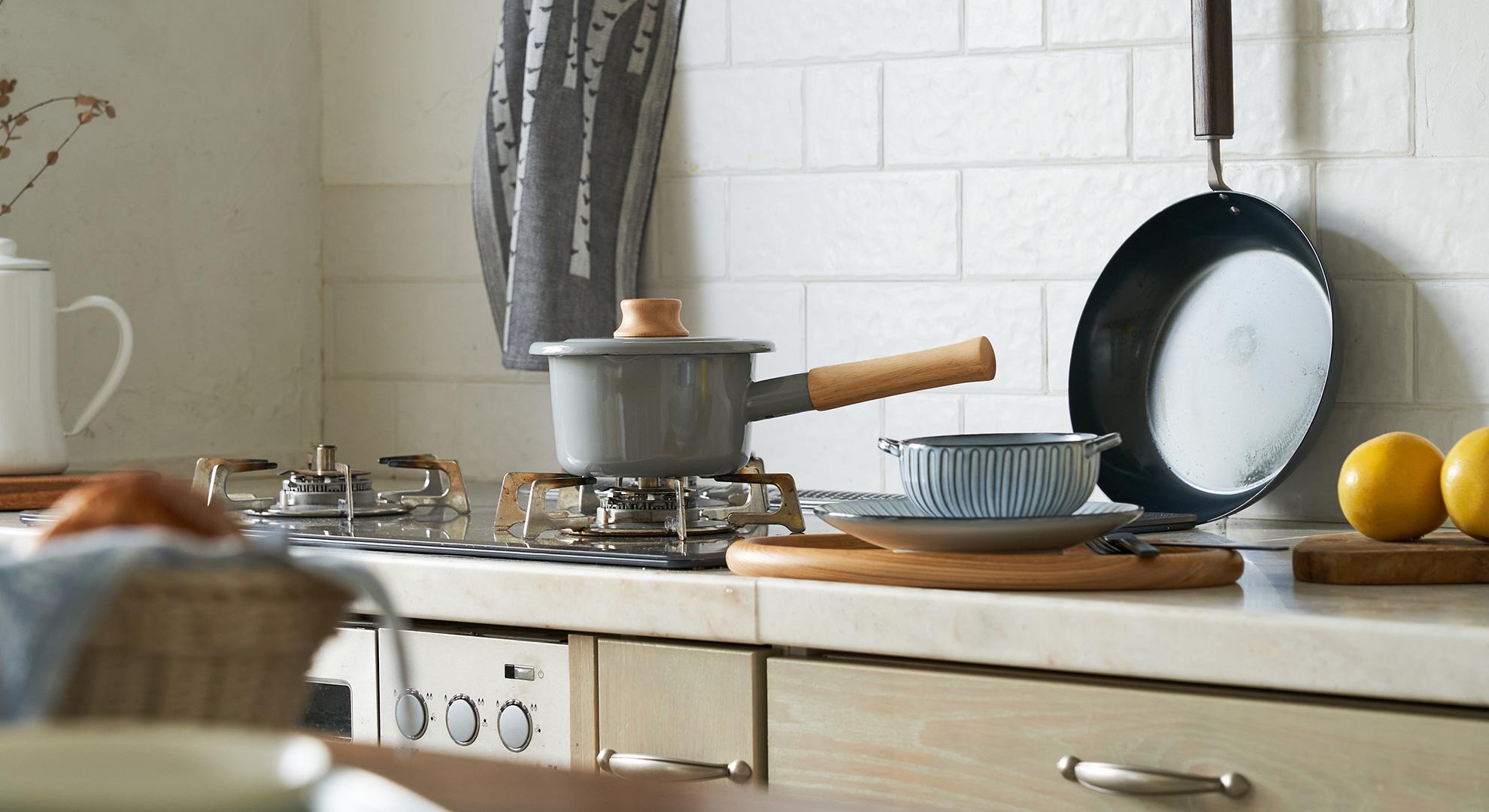 HOME ITEM SELECTION 今よりもっと快適な良い暮らしを目指して、キッチン&生活雑貨をセレクト!充実したお家時間を★