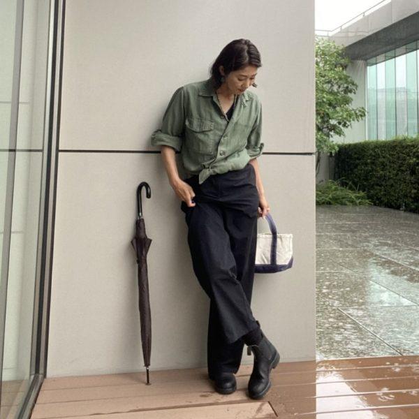 BLUNDSTONE サイドゴアブーツ ¥25,300 ブランドストーンは雨の日のお洒落