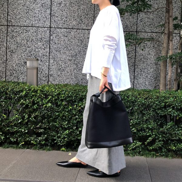 徳原文子×eclat 「ストレートスカート」をバイヤーTが着てみました/エクラ2021年特集
