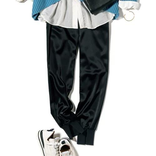 Col Pierrot(コルピエロ) サテンリブパンツ ¥39,600