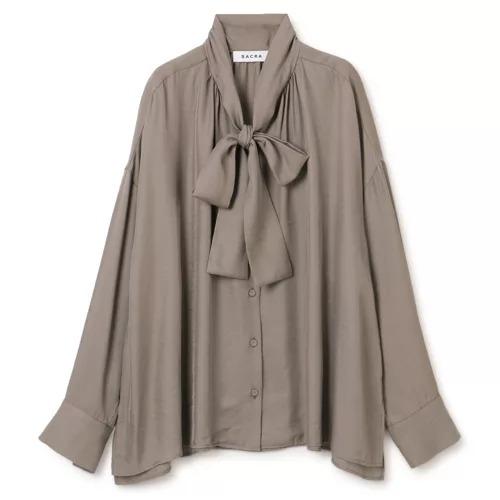 SACRAボウタイシャツ/ TRIACE VINTAGE TWILL¥24,200