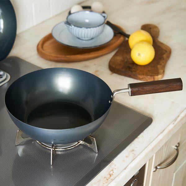【FD STYLE】鉄フライパン 24cm 深型のおすすめポイント / 油馴染みがよく焦げにくいです。